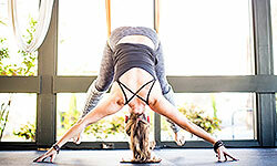Antigravity yoga can provide a new challenge to your yoga routine.