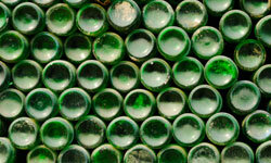 Put all those empty beer and soda bottles to good use -- recycle them into the walls of a new home!