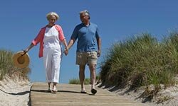 Something as simple as taking a daily walk can help arthritis symptoms.
