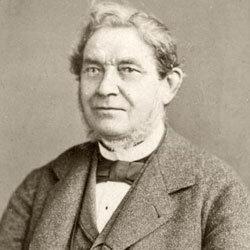German scientist Robert Wilhelm Bunsen, circa 1870