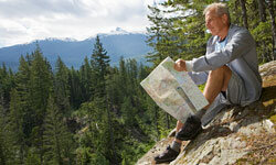 Looking for some fun? Grab a good map and some comfortable shoes, and you're ready for an exhilarating hike through the hills.