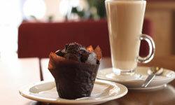 Consider a chocolate muffin a dessert treat, not a healthy breakfast.