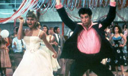 Sandy and Danny wow the crowds at the high school dance.