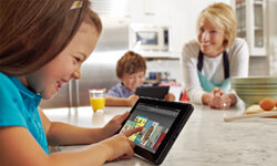 Amazon's new full-color tablet, the Kindle Fire, launched in late 2011. Its $199 price tag may shake up the tablet market, but the Kindle Fire sells at a loss for the Internet retail giant.