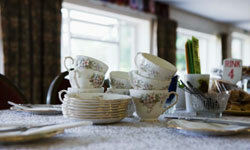 If you think you'll use your china, register for it. If not, consider registering for informal place settings.