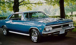 The Chevy Chevelle is one of the most popular muscle cars. This 1966 model is obviously a classic.