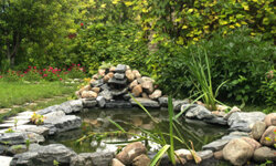Manmade ponds may look enough like the real thing to give children pause when they approach.