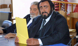 Lots of people have been tried for tax evasion, even opera singer Luciano Pavarotti in September 2001. The tenor pleaded not guilty and was acquitted.