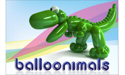 iPhone users can blow into their gadget's microphone to inflate their balloonimals.