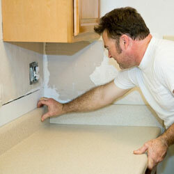 Many people choose plastic laminate when looking to replace their old countertops.