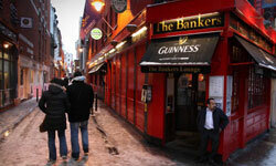 Private sector debt triggered Ireland's government bailout.