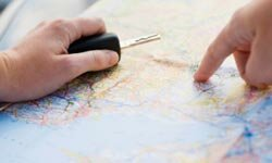 Even if you don't plan every little stop on your cross-country trek, you need a general idea of where you're going and how you'll get there.