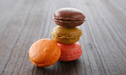 Macarons may look like tiny hamburgers, but they're certainly sweeter!