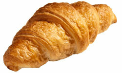 Croissant: It's hard to pronounce and even harder to burn off.