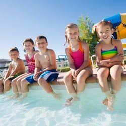 Kids of all ages appreciate a variety of foods to snack on during a day at the pool.