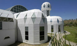 The Biosphere II visitor's center is one of the most famous buildings to be insulated with Air Krete.