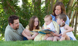 Reading is an activity the whole family -- including the crawlers -- can enjoy.