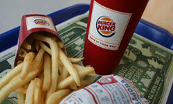 BK serves up beefy Whoppers to beef eaters all over the beef eating world.