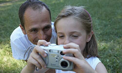 The picture album you create with your daughter will be a physical memento of the time you spend together.