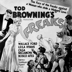 """Tod Browning's 1932 film """"Freaks"""" featured a cast of famous sideshow stars."""