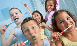 Young children are most susceptible to a fluoride overdose and should be monitored when using fluoridated toothpaste.