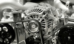 Turbulence in a car engine's airflow can greatly affect the engine's efficiency.