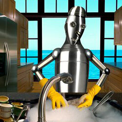 Robotic servants are mostly still the stuff of science fiction.