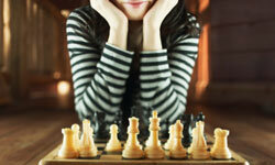 Chess challenges both the young and the old.