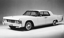 The 1965 Lincoln Continental sedan is seen in this Sept. 2, 1964 photo.