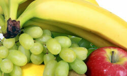 Fruit is a perfectly plane-ready snack.