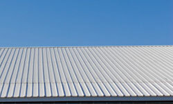 A coated metal roof is a sturdy option that will keep your home warm and dry for many years.