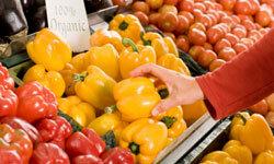 The fresh produce isn't always fresh.