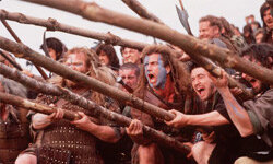"Mel Gibson's ""Braveheart"" dazzled audiences more than historians."