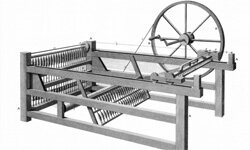Hargreaves' spinning jenny had a big impact on textiles.