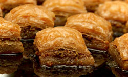 Baklava is sweet, sticky and delicious!