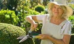 Why not show off your green thumbs by working as a groundskeeper?