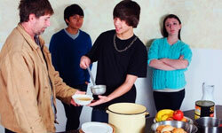 Local soup kitchens can always use some extra help.