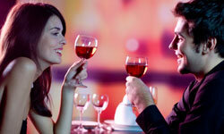 Women, beware: That glass of wine is likely to affect you more than it does him.