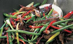 Leftover steak makes for tasty stir-fry.