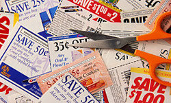 Those shiny little pieces of paper -- and their less-shiny online counterparts -- will save you more money than you'd imagine at the grocery store.