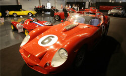 This 1962 Ferrari was presented during an auction for 33 of world's most significant sport and racing Ferrari cars at the Ferrari's headquarters in Fiorano, Italy, in 2007. See more pictures of classic cars.
