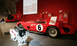This 1962 Ferrari 330 TRI is part of a collection of dream cars and memorabilia to be sold at the legendary home of Ferrari in Maranello, Italy.