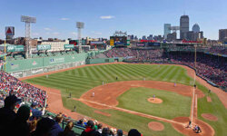 Fenway Park, home of the Boston Red Sox, opened in 1912. See more Sports Pictures.