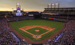 Coors Field in Denver, Colo.