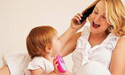 Aww, baby's first gadget!