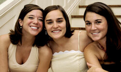 If you have close friends at the wedding, you'll want to have photographs of them in your album, too.