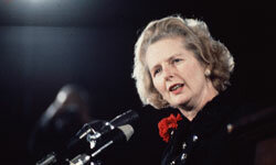 In May 1979, Margaret Thatcher became Britain's first female prime minister.