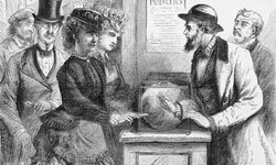 Victoria Woodhull attempted to run for president almost 50 years before American women were even allowed to vote.
