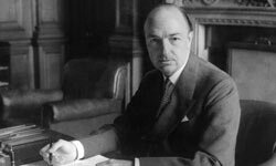 Scandal caused Britain's Secretary of State for War, John Profumo, to resign in 1963.