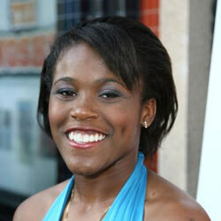 Jasmine Plummer arrives at the movie premiere for ''The Longshots'' in Westwood, California. She was the first female to play the quaterback position at the Pop Warner Super Bowl.